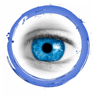 Blue Ring with eye