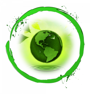 Green Ring with globe