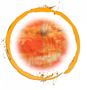 Orange Ring with Texture
